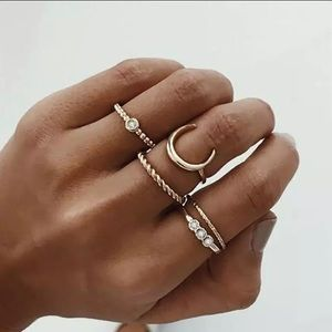 Jewelry - NEW ♡ Bohemian Soul Rings Set